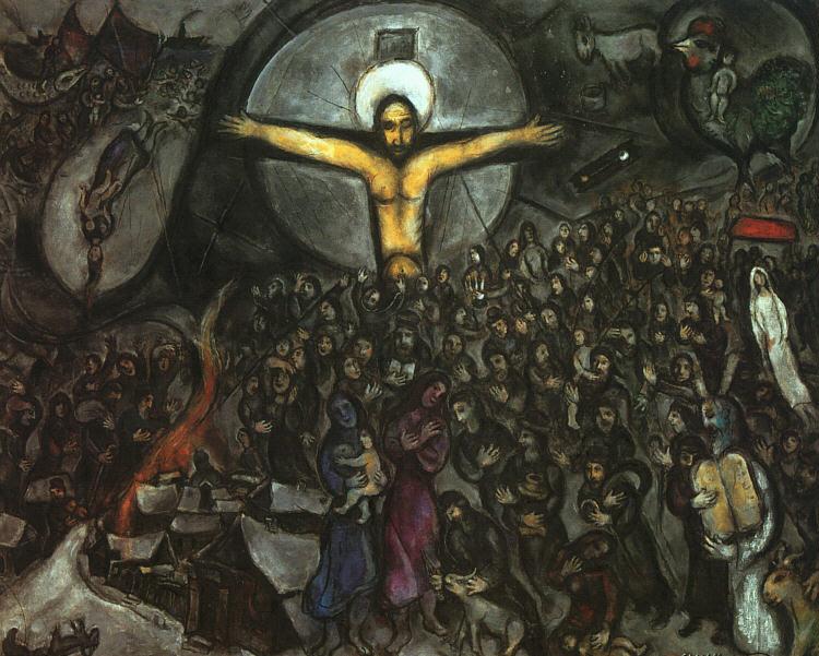 Marc Chagall   Jameswoodward's Weblog Chagall Crucifixion