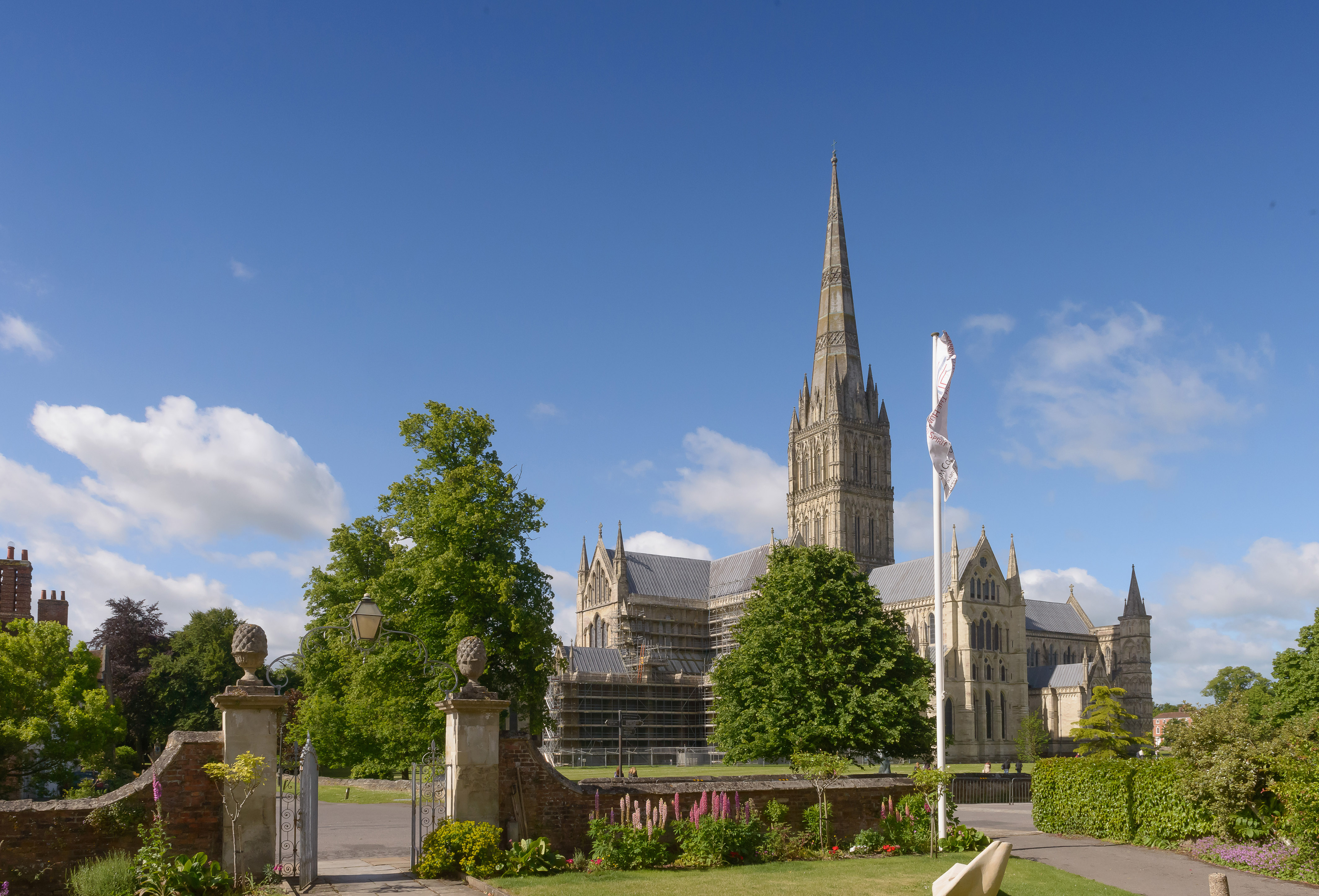 Cathedral from Sarum College